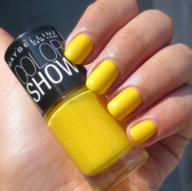 Maybelline Color Show Nail Polish In India Sweet Sunshine