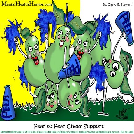 » Peer to Peer CHEER Support Groups do they work? - Mental Health Humor