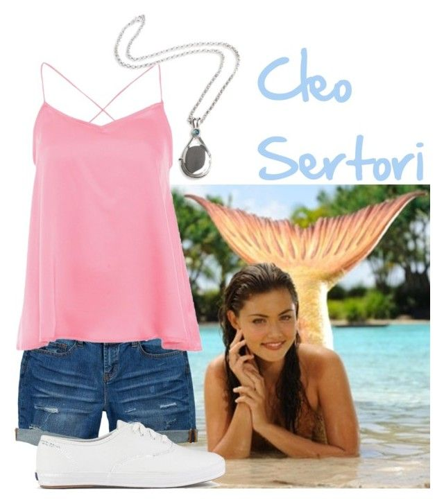 """""""Cleo Sertori - H2O: Just Add Water"""" by princesskate95 ❤ liked on Polyvore featuring dELiA*s, Alice & You, H2O+, Keds, h2o, justaddwater and CleoSertori"""