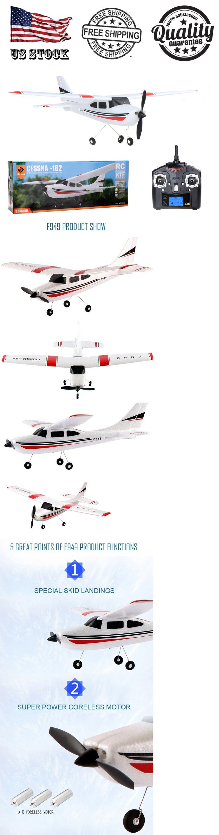 Airplanes 182182: Wltoys Goolrc F949 2.4G 3Ch Rc Airplane Fixed Wing Plane Outdoor Plane Toys New -> BUY IT NOW ONLY: $49.99 on eBay!
