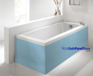 Luxury Pale Blue 1 Piece Bath Panels