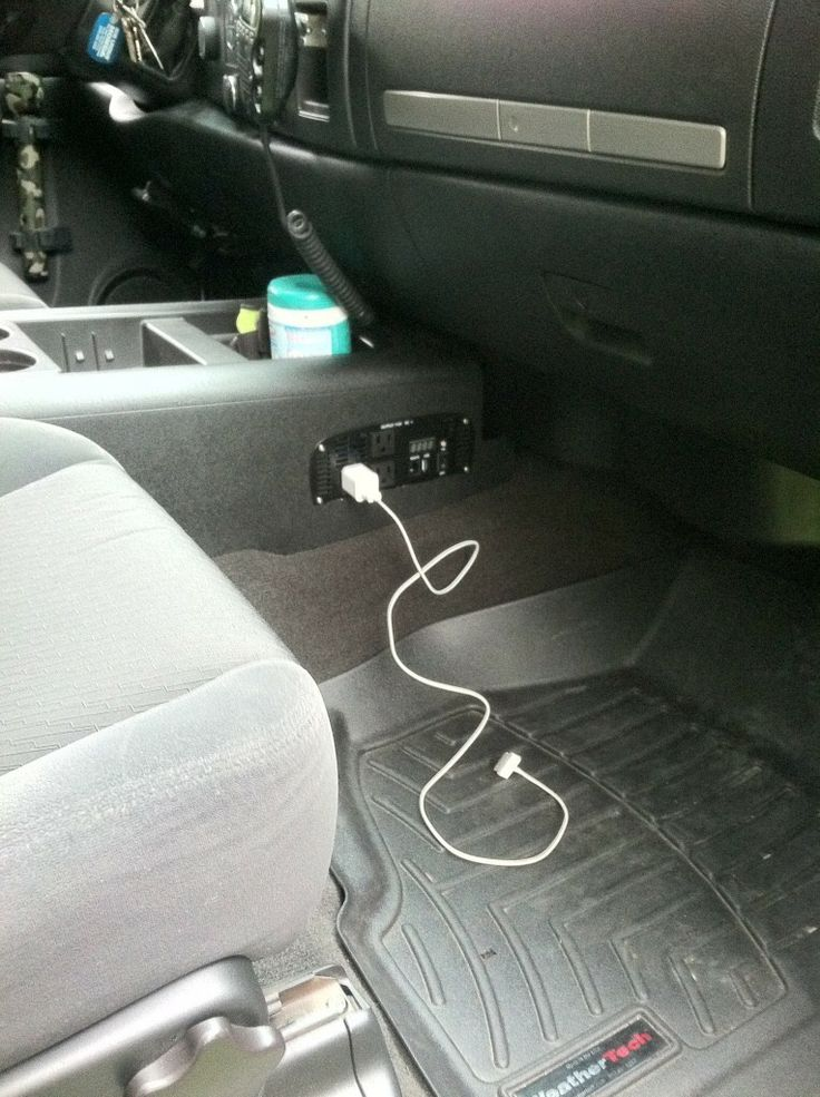 Integrated power adapter