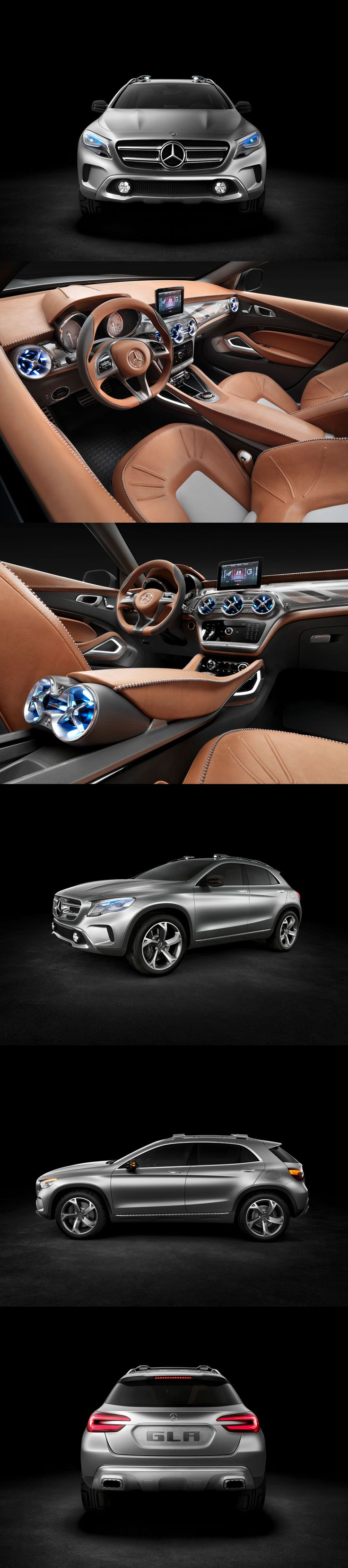 I want this...uhhh...so badly! Mercedes-Benz GLA