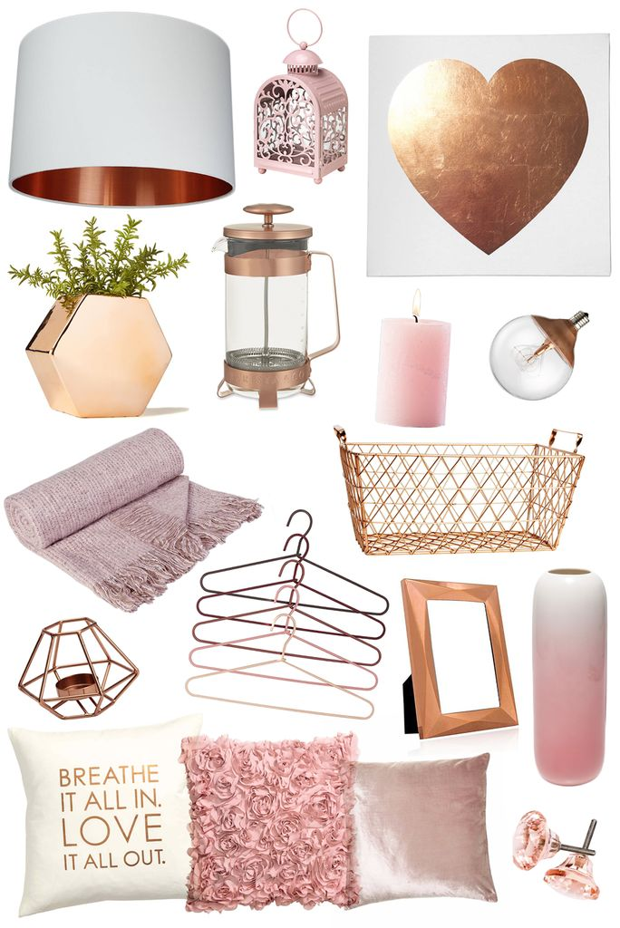 abbzzw | personal style and lifestyle blog: craving homeware: blush & copper
