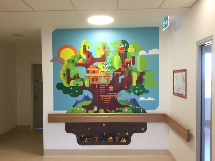 Tamworth Regional Referral Hospital. Childrens's ward.