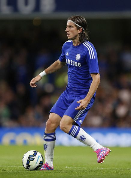 Filipe Luis - Chelsea v Real Sociedad, 12th August 2014