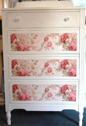 Shabby chic dresser. by antigua sea #shabbychicfurnituredresser