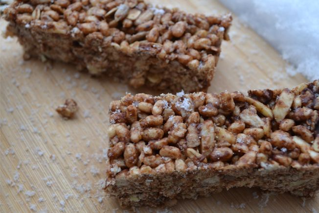 Crunchy Cereal Bars