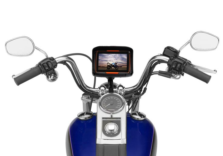 4.3 inch motorcycle gps navigation bluetooth Waterproof Rating IPX7 8GB Nand flash with free maps //Price: $124.44//     #electonics