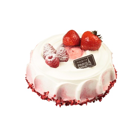 Strawberry Cheeses Cake At Paris Bagette
