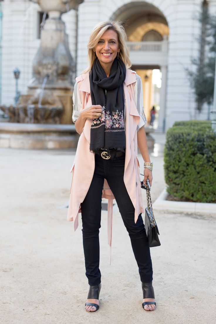 New blog story featuring our Blush and Black Belted Moto Vests, Black and White Stripe Shirt and Black Scarf with Embroidered Border. . ALL FEATURED ITEMS ARE PART OF OUR 24-HR FLASH SALE - GET 15% OFF WITH CODE FS221 PLUS FREE US SHIPPING www.jacketsociety.com