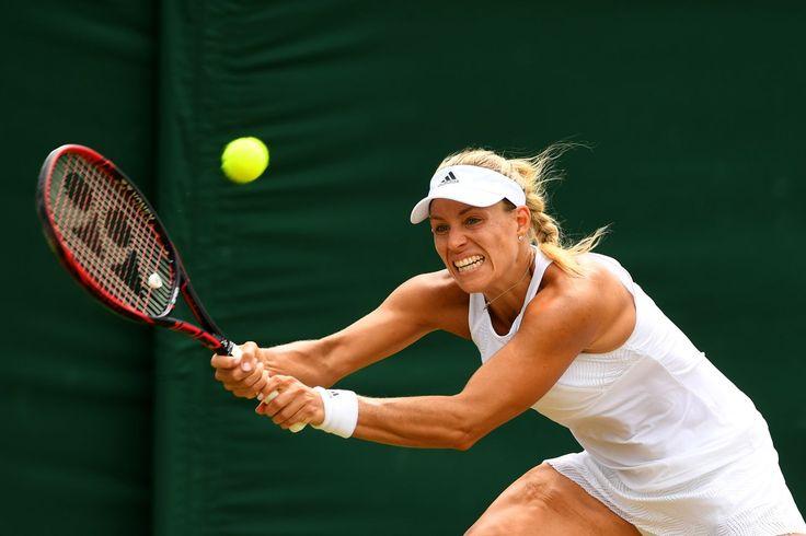 Wimbledon results 2017: Top seed Angelique Kerber out; Simona Halep and Jelena Ostapenko advance