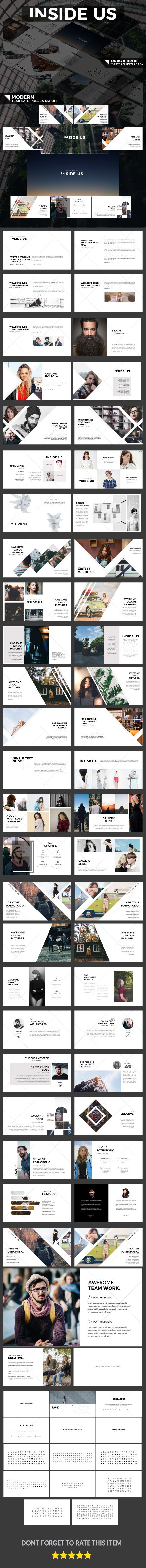 INSIDE US - Modern Presentation - Business PowerPoint Templates