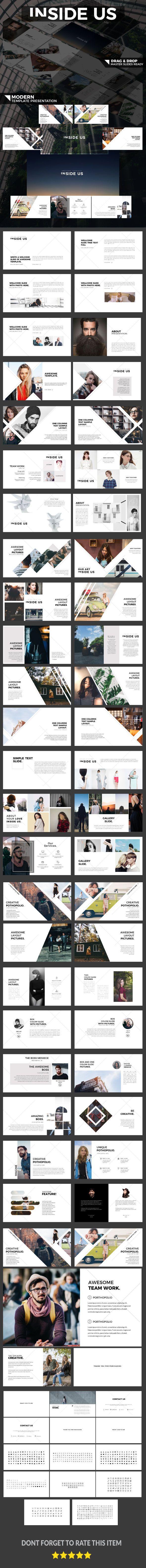INSIDE US - Modern Presentation - Business PowerPoint Templates