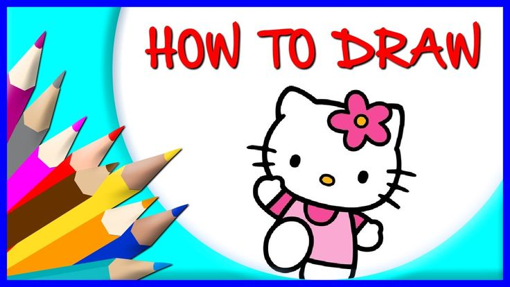 How to Draw Hello Kitty | Drawing Time Lapse | 853672 HTD