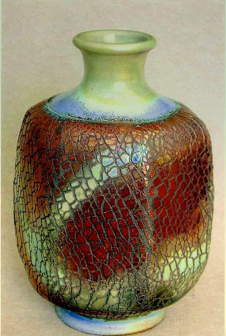 81 best other ceramics images on pinterest ceramic pottery mwein 6 sided raku vase reviewsmspy