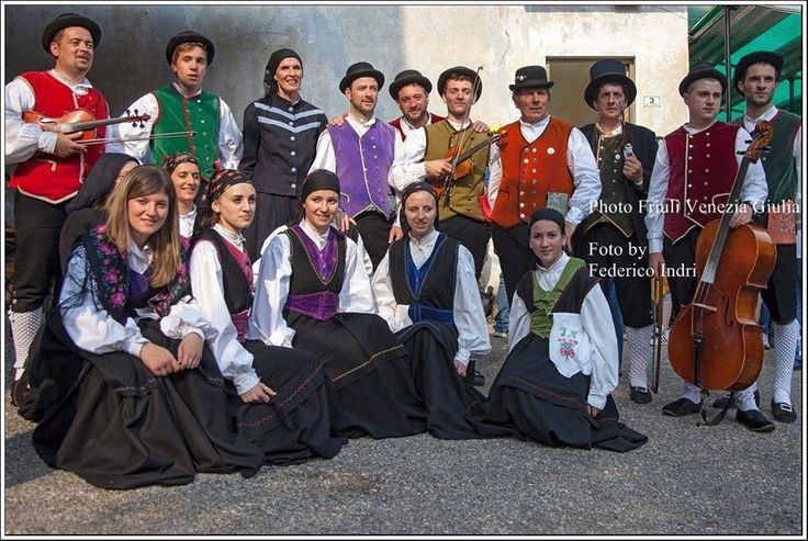 Uccea. Val Resia. Gruppo folcloristico resiano-by Federico Indri   Friuli Venezia Giulia Photo Selection