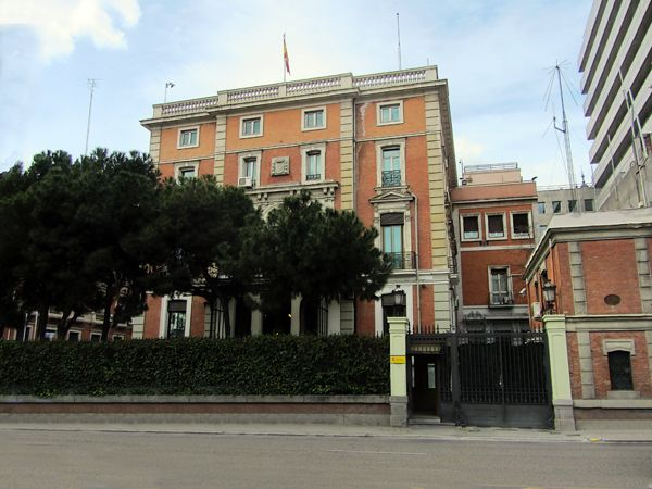 505 best images about palacios de madrid on pinterest for Ministerio de interior madrid