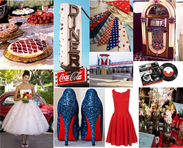 50s Wedding Theme | Wedding Wednesday: 50s Diner Theme | the store
