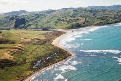 Wairarapa's east coast. I do miss living close to the beach!