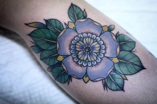 flower cover up tattoos on arm - Google Search