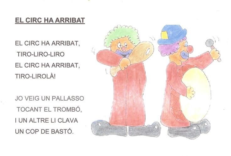 Cantores infantiles.: CIRCO