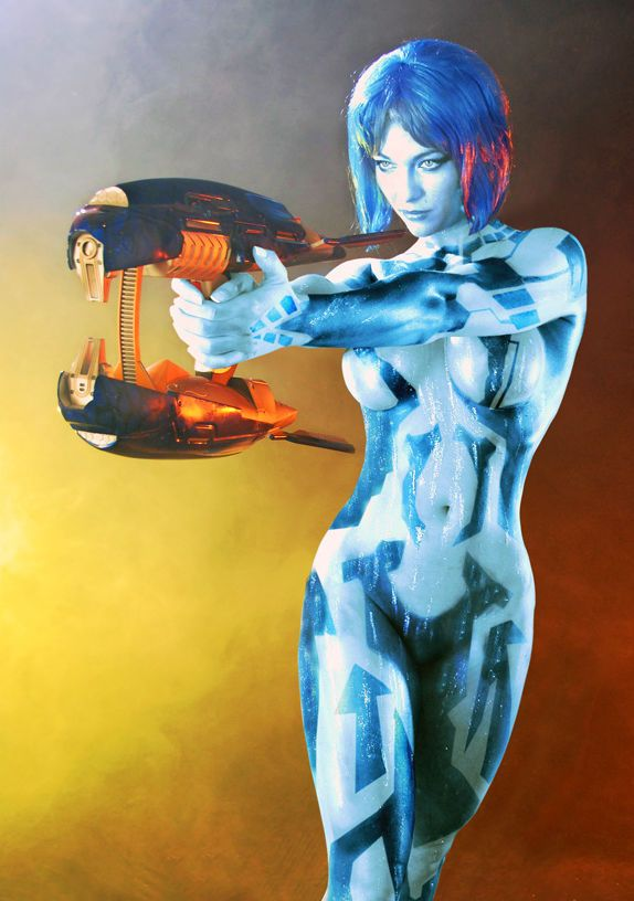 Idea and hot cortana cosplay