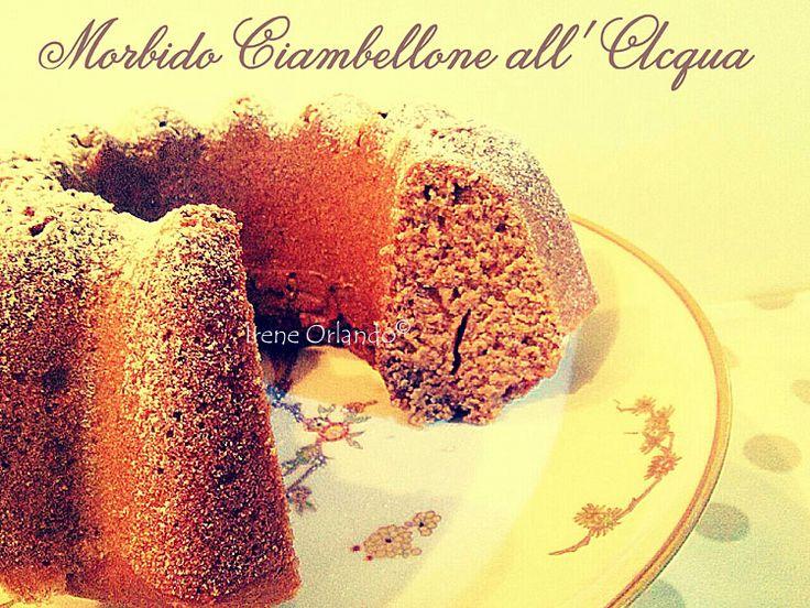 Ricetta della Torta Ciambellone fatto con Acqua Kangen e Farina di Tumminia - Tutti ingredienti genuini e vegetali