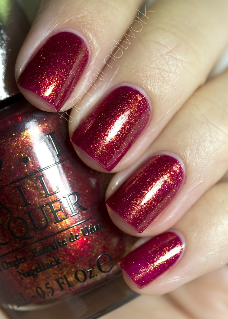 The Nail Network: OPI DS Luxurious and Indulgence