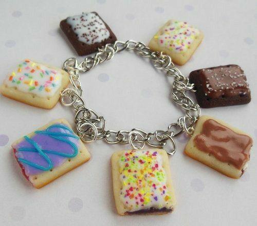 Poptart Charm Bracelet