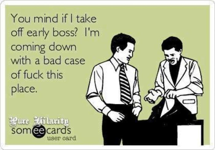 Work Sucks ecard