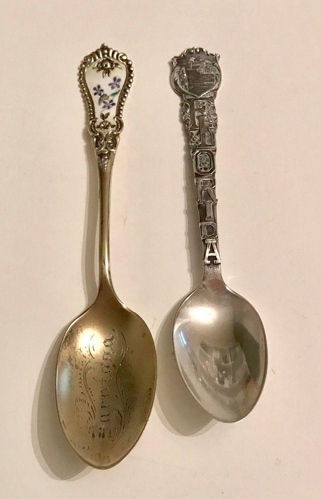Dating souvenir spoons