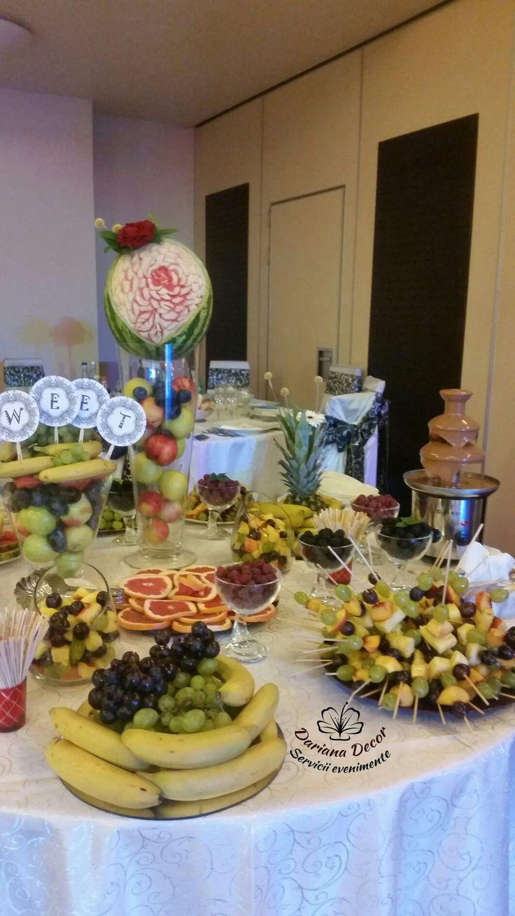 Bar fructe nunta