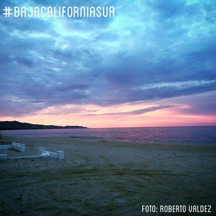 Cerramos este día con un hermoso atardecer desde #CaboDelEste en #BajaCaliforniaSur