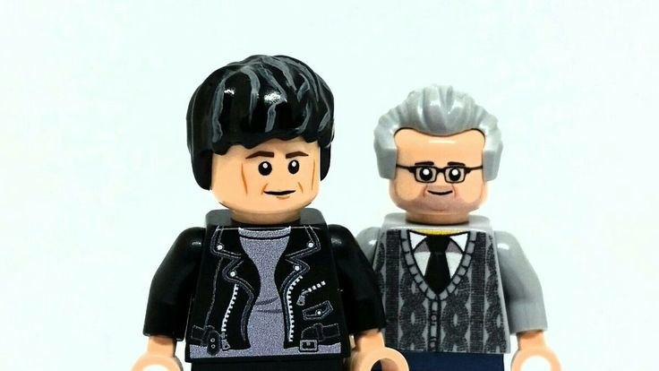 Lego Brian cox and robin ince