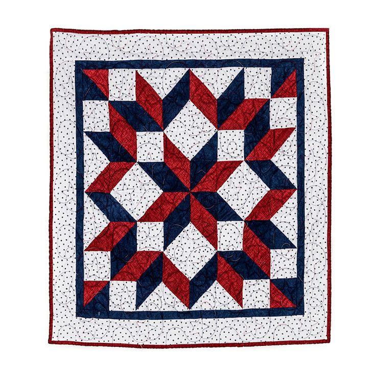 Yankee Doodle - Baby Quilt 36x36 $250