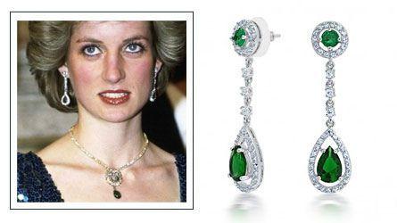 Diana S Drop Emeralds Diana Jewelry Of A Princess