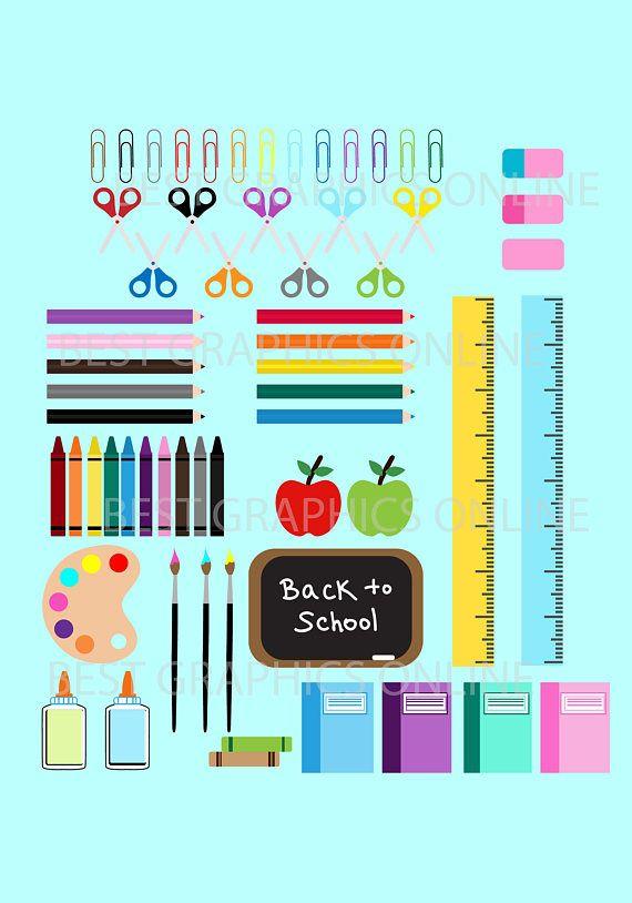 Uso comercial de venta 80% niños de nuevo a escuela clipart