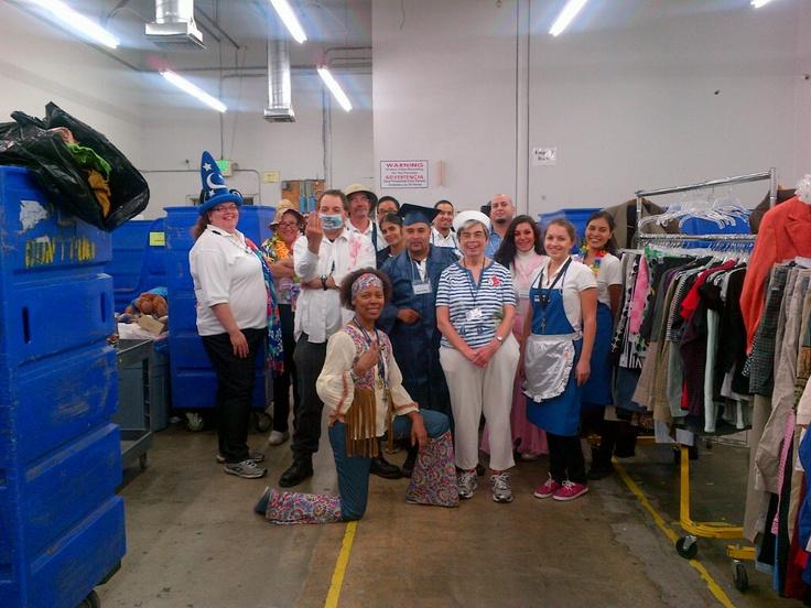 goodwill socal staff getting into the halloween spirit - Halloween Spirit Store San Antonio Tx