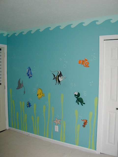10 best images about finding nemo bathroom on pinterest for Finding nemo bathroom ideas