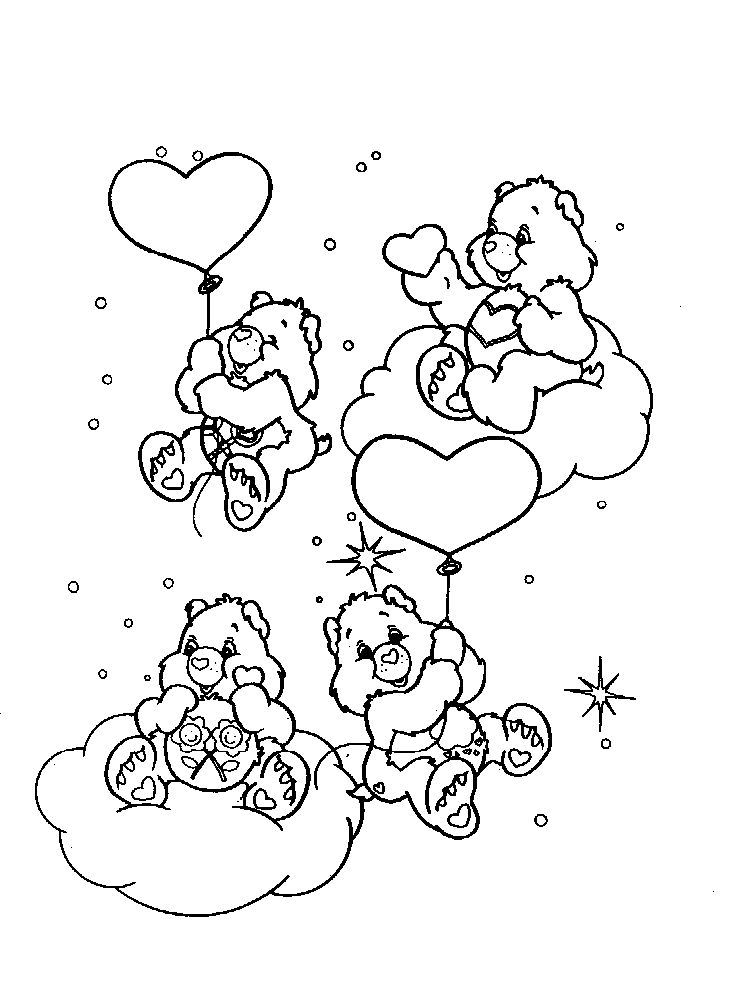 colouring pages care bears cartoon characters coloring pages 1st grades cartoon caracters printable coloring pages coloring sheets - Cartoon Characters Coloring Pages