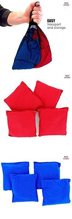T Bag T Shirt. Premium Weather Resistant Duck Cloth Cornhole Bags - Set of 8 Bean Bags for Corn Hole Game - 4 Red & 4 Blue.  #t #bag #t #shirt #tbag #bagt #tshirt