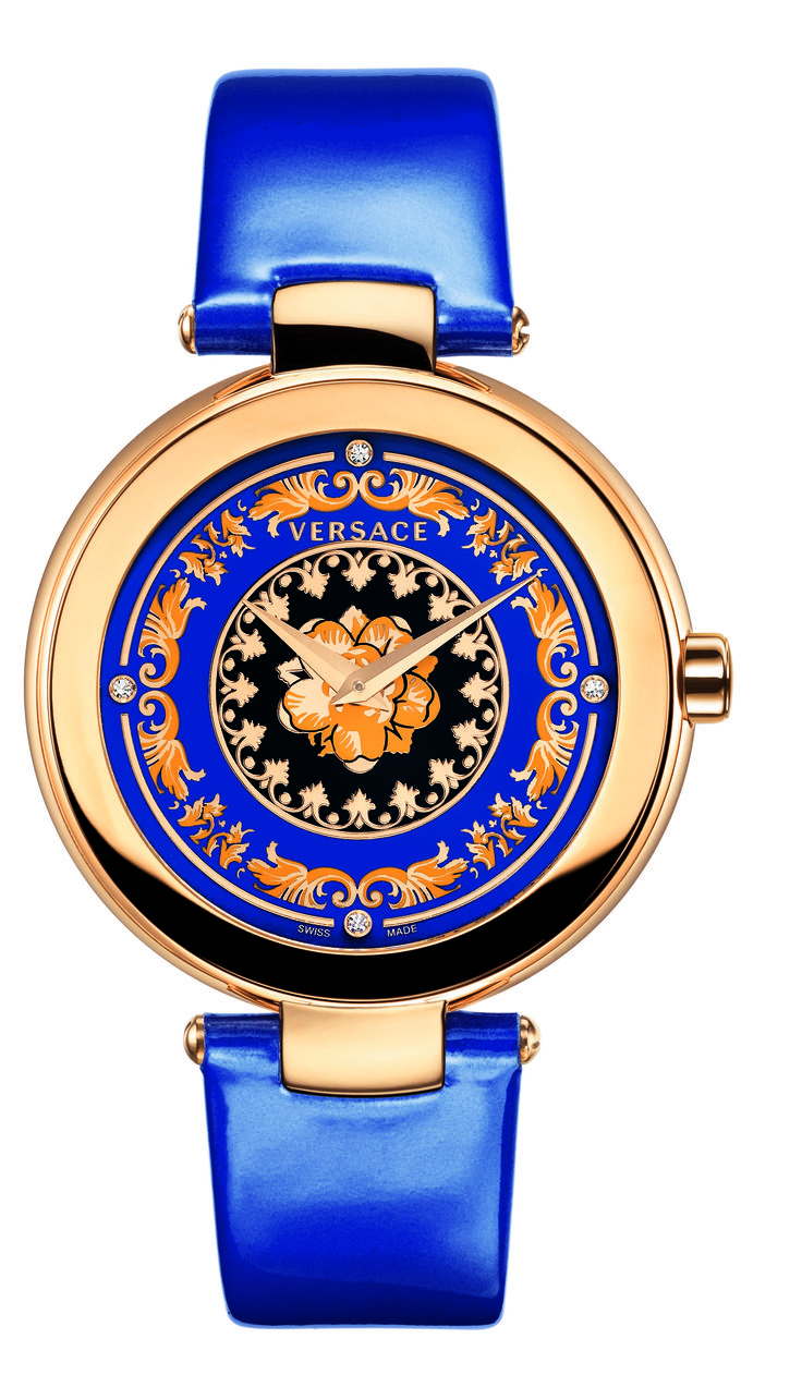 The Versace Mystique Foulard is a sophisticated jewelry watch. #bijoux, #bijouxfantaisiefemme, #montresfantaisies, #montresfemme