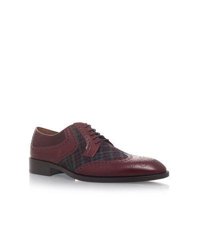 ETRO Tartan Derby Shoes. #etro #shoes #