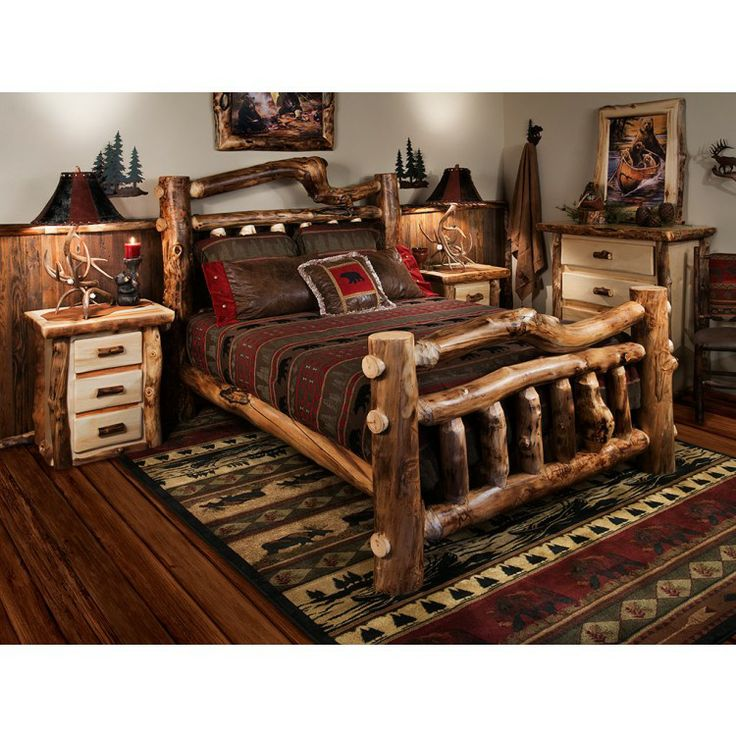 17 Best Images About Rustic Bedroom Furniture... It's Like