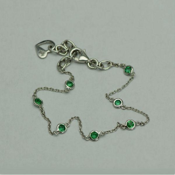 Bratara din aur alb 18k cu smaralde #bratariauralb #bratarasmaralde #smaralde #emeraldbracelet #emeralds