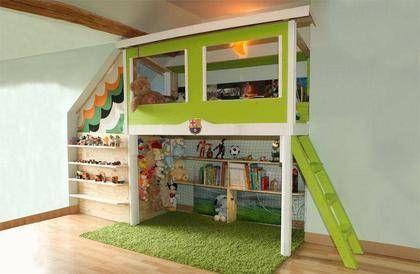 lit cabane enfant meubles photo 1 cabane pinterest lit cabane cabane enfant et cabane. Black Bedroom Furniture Sets. Home Design Ideas