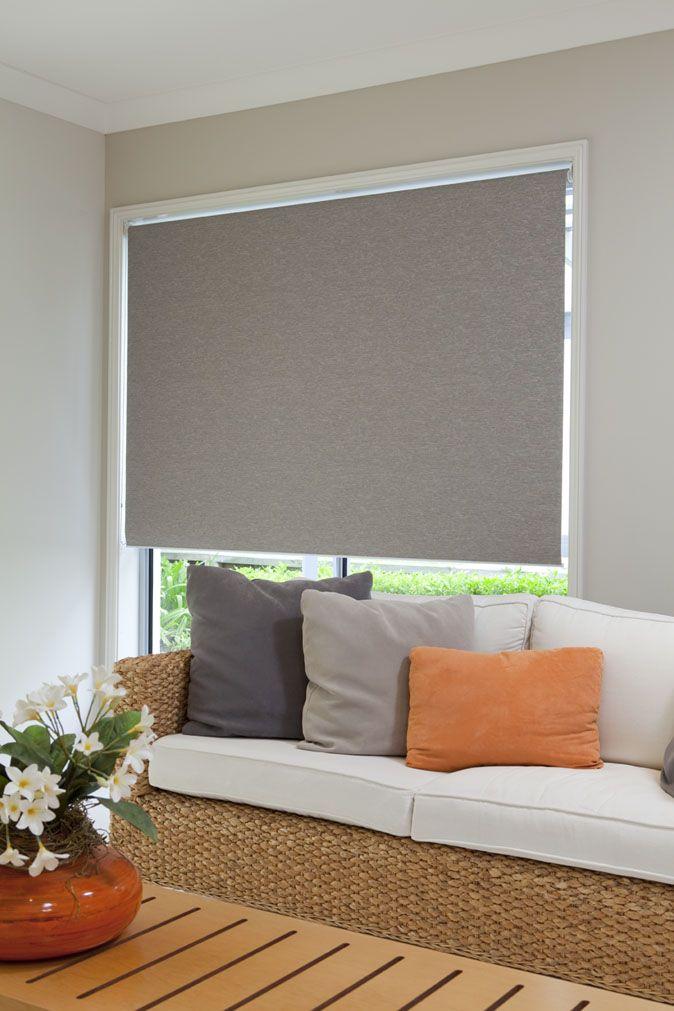 Blockout Portsea Roller Blinds - Granicite #roller #blinds #home #decor