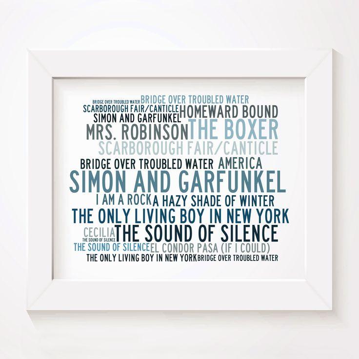 Lyric simon and garfunkel america lyrics : 41 best Pop images on Pinterest | Art posters, Art print and Lyric art