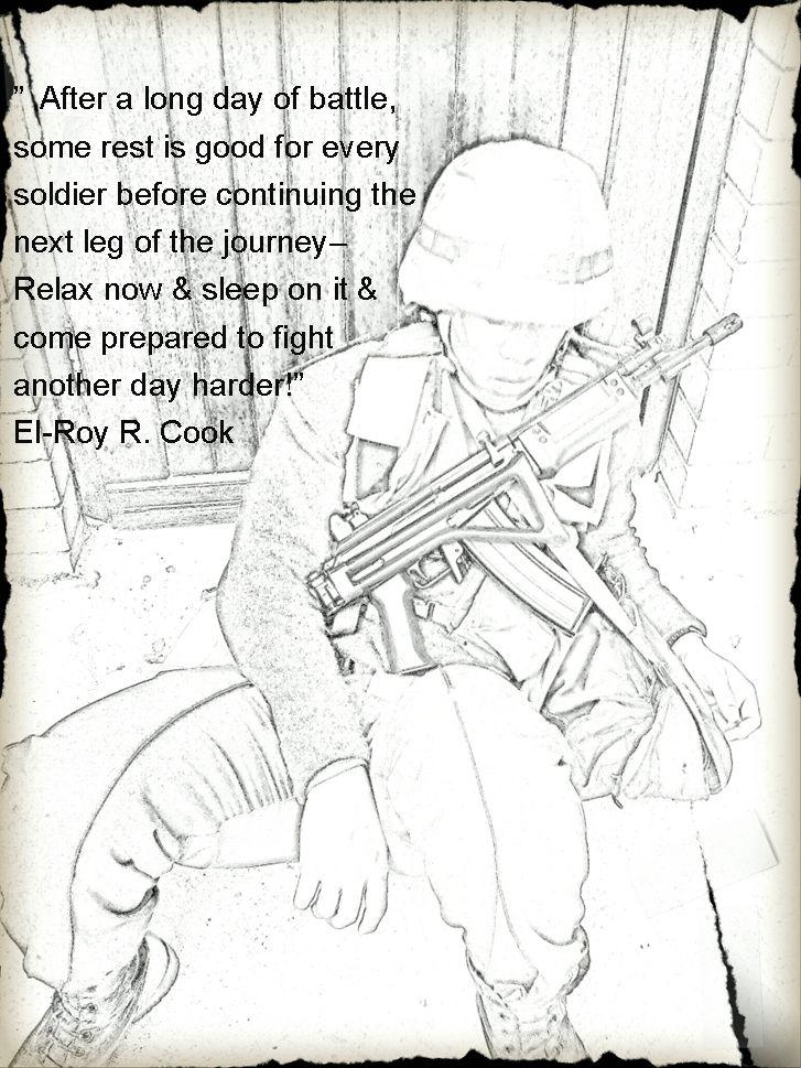 Sleep On It Soldier!